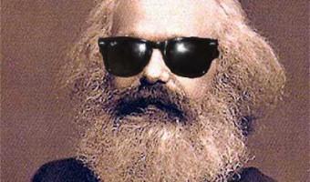 karl marx in shades