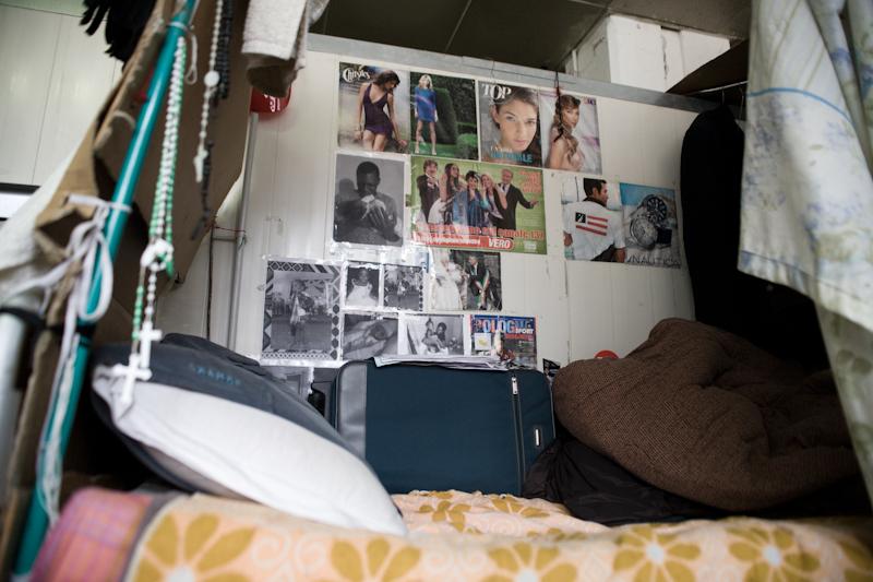Il letto di Francis