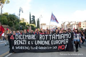 No Renzi Day working poor