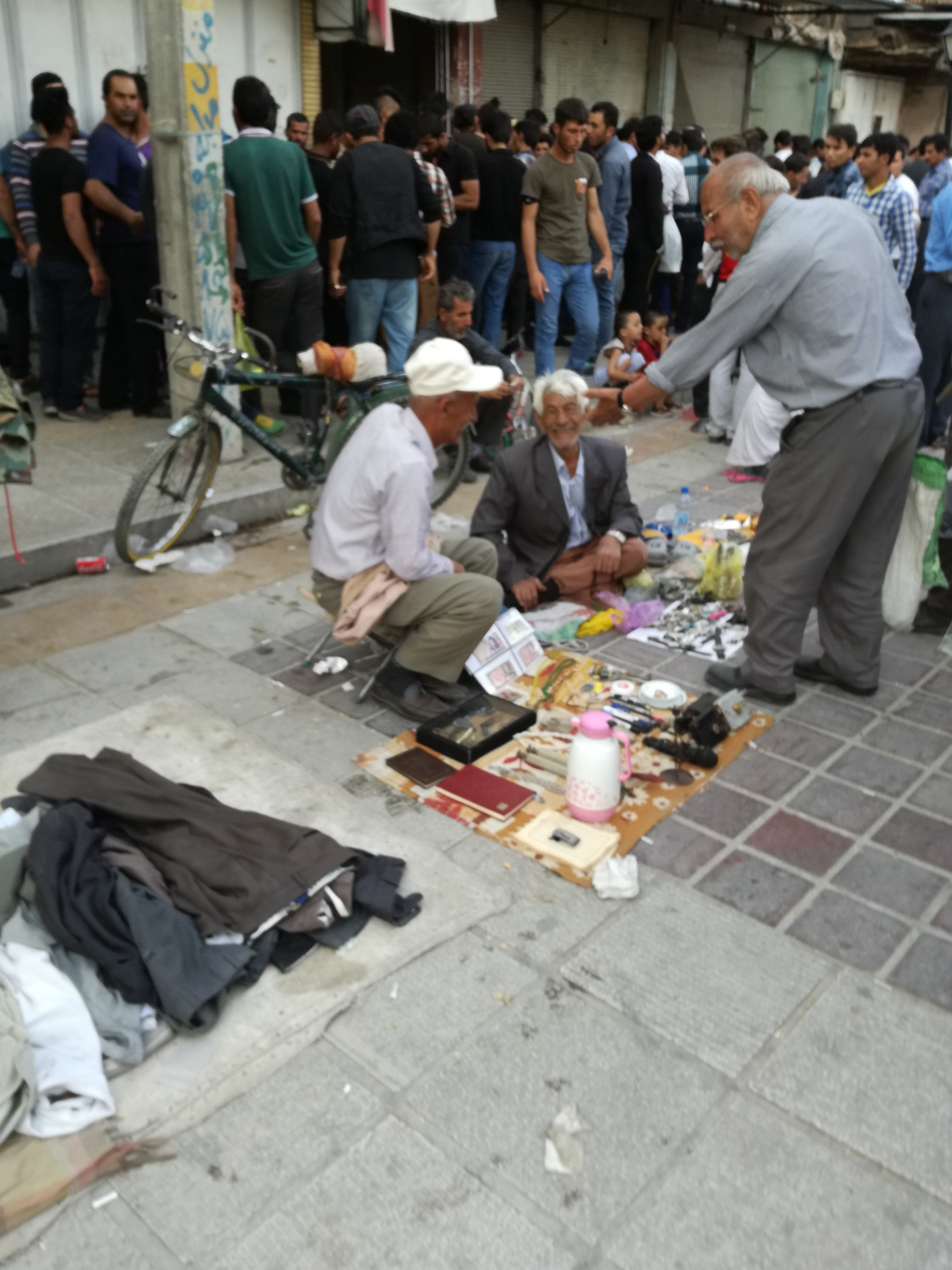 shiraz, mercato povero
