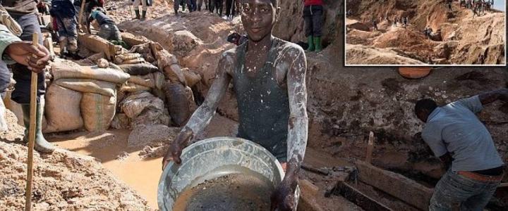 Nelle miniere di coltan