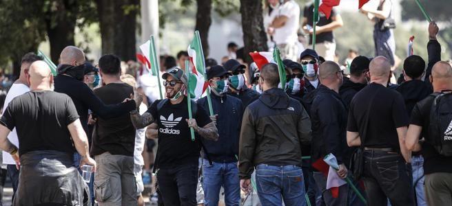 Ancora una gazzarra fascista a Roma, è la quarta in cinque giorni ...